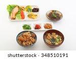 japanese cuisine | Shutterstock . vector #348510191