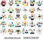 human profession concept | Shutterstock .eps vector #348525839