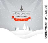 christmas background | Shutterstock . vector #348531851