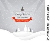 christmas background | Shutterstock . vector #348531851