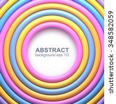 abstract background with... | Shutterstock .eps vector #348582059