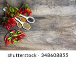 fresh red  yellow and green... | Shutterstock . vector #348608855