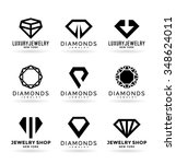 diamonds  16  | Shutterstock .eps vector #348624011