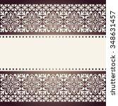 vector vintage elegant pattern.   Shutterstock .eps vector #348631457