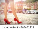 summer photo in portofino port... | Shutterstock . vector #348651119