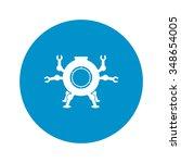 submarine icon.  | Shutterstock .eps vector #348654005