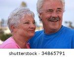 attractive married senior... | Shutterstock . vector #34865791