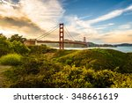 Golden Gate In The Late...
