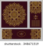 set card  flyer  banner with... | Shutterstock .eps vector #348671519
