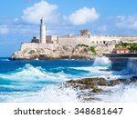 El Morro Castle In Havana With...