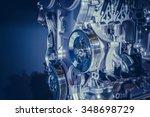 car engine part | Shutterstock . vector #348698729