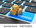 internet shopping  online... | Shutterstock . vector #348701801