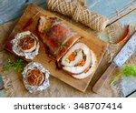 Stuffed Pork Loin Roast With...