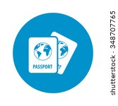 passport icon. passport icon...