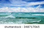 Beautiful Waves In The Sea