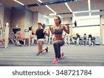 sport  bodybuilding  lifestyle... | Shutterstock . vector #348721784
