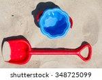 Children's Beach Toys   Red...