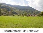 barruera landscape lleida spain | Shutterstock . vector #348785969