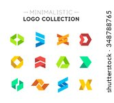 minimalistic logo collection....   Shutterstock .eps vector #348788765