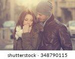 couple in love.  | Shutterstock . vector #348790115