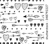 black and white pattern of the... | Shutterstock .eps vector #348792227