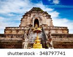 Ancient Temple Of Wat Chedi...