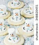 Sweet Snowmen Of Cookies And...