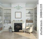 White Winter  Modern Interior...