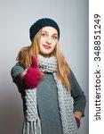 all good. modern young business ... | Shutterstock . vector #348851249