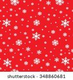 snowflake pattern   snowflake... | Shutterstock .eps vector #348860681
