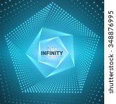Vector Infinite Pentagonal...