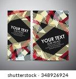 brochure business design... | Shutterstock .eps vector #348926924