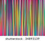 the abstract striped color background - stock vector