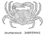 Sea Crab With High Details....