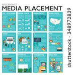 big inforgraphics set of modern ... | Shutterstock .eps vector #348972839