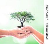 world environment day concept ... | Shutterstock . vector #348978959