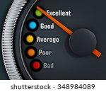 excellency levels speedmeter... | Shutterstock . vector #348984089