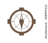 compass icon vector. compass...