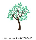 Little Tree Illustration With...
