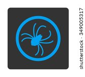 spider vector icon. style is...   Shutterstock .eps vector #349005317