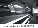 empty dark abstract concrete... | Shutterstock . vector #349020791
