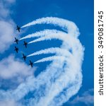 Air Show Acrobatic Formation...