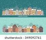 Vector Illustration. Winter...