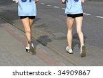 running | Shutterstock . vector #34909867