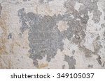 cracked wall background | Shutterstock . vector #349105037