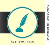 vector illustration of icon... | Shutterstock .eps vector #349109549
