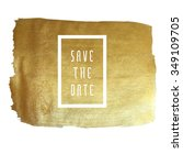 save the date vector... | Shutterstock .eps vector #349109705
