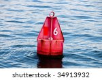 A red channel marker guides...