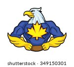 super hero hawk logo icon...