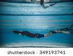 montreal  circa june 2014   two ... | Shutterstock . vector #349193741